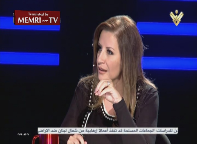 Lebanese Politician Vera Yammine Denies the Holocaust, Says: Zionism Controls the West, Taking Hold of the East