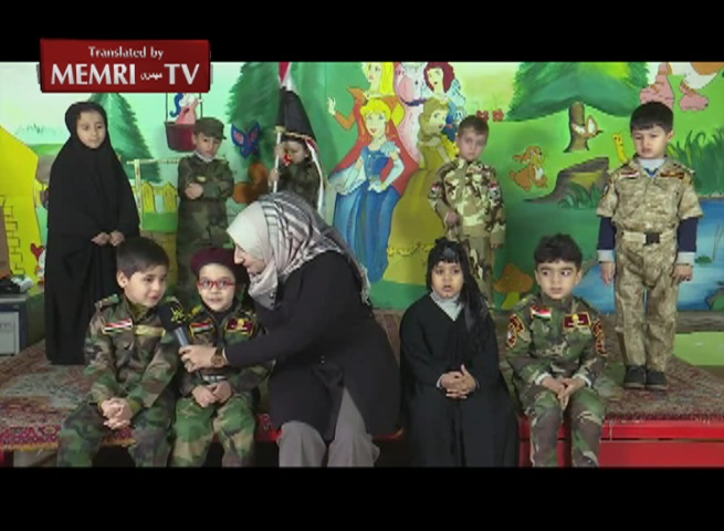 Kindergarten Kids Reenact ISIS Massacre during a Children's Show on Hizbullah-Iraq TV