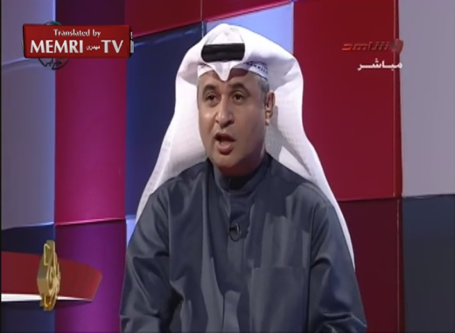 "Kuwaiti TV Host Mocks Valentine's Day Statement by Lebanese Ambassador about the Power of Love and Asks: ""When Did Love Ever Make Peace in This World?!"""