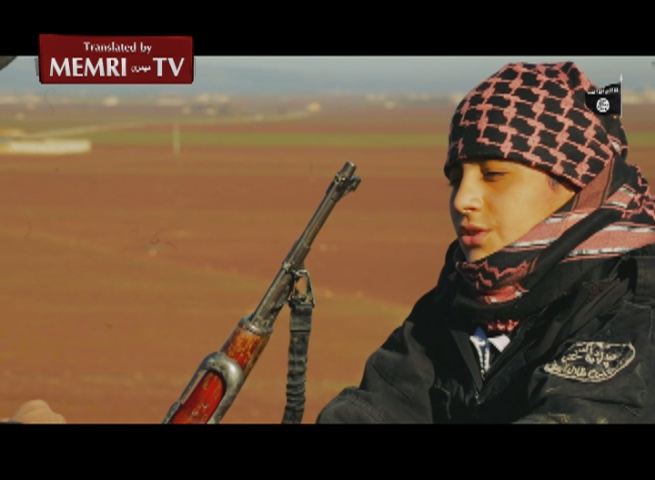 15-Year-Old Syrian ISIS Member Talks about His Decision to Become a Suicide Bomber: My Father Encouraged Me