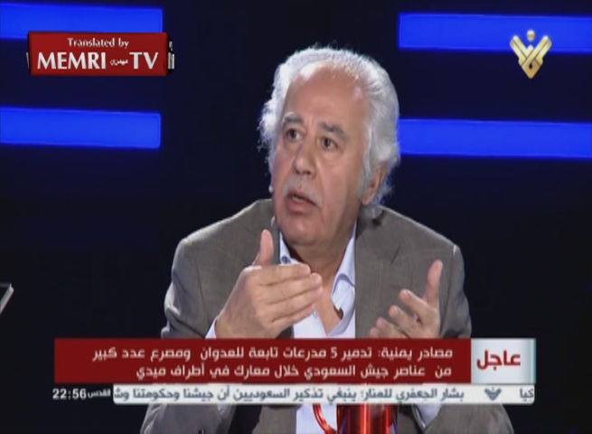 Iraqi Researcher Abdul-Hussain Shaaban on Hizbullah TV: Our Complete Rejection of the West Stems from Backwardness