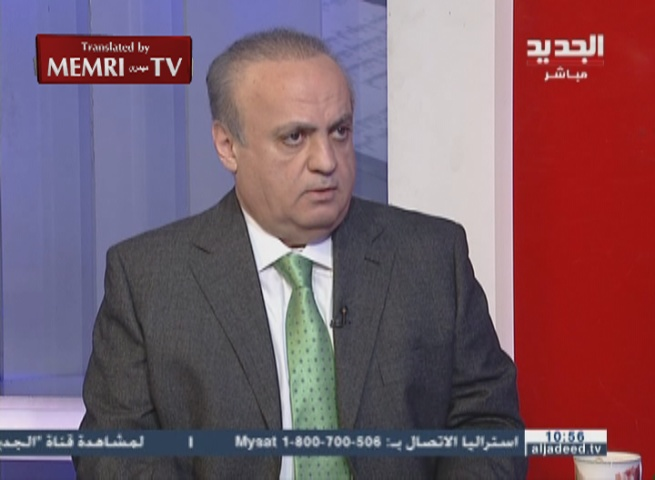 Former Lebanese Minister Wiam Wahhab Warns against Turkish Interference in Syria: Cities in Turkey, Israel, and the Gulf Will Be Shelled
