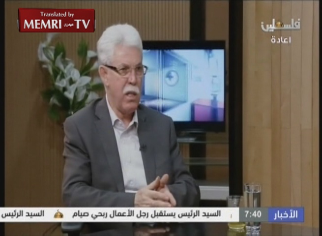 Jamal Muhaisen of the Fatah Central Committee: The U.S. Is No. 1 Enemy of the Palestinians and of the Arab and Islamic Nation