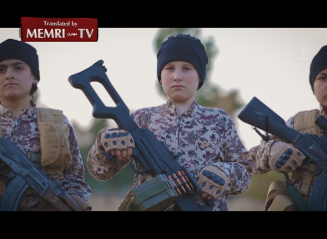 ISIS Music Video in French Featuring Children: Your Roads Will Be Rigged by Mines, Our Swords Are Sharpened to Slice Necks