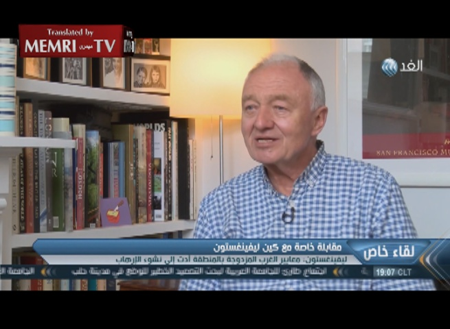Former London Mayor Ken Livingstone: The Establishment of Israel 'Fundamentally Wrong', In '32, Hitler Wanted to Deport the Zionists, Not to Kill Jews