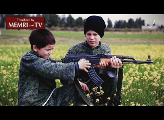 "Children of French ISIS ""Martyr"" Execute Prisoners, Vow: Today in Syria, Tomorrow in Paris"