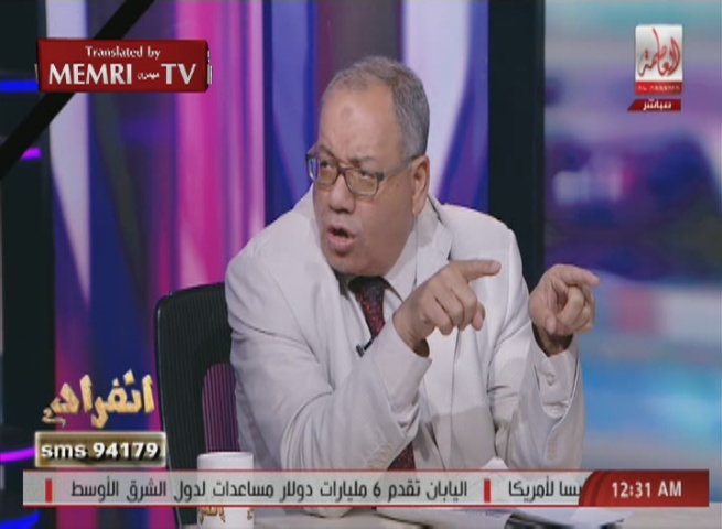 Egyptian Political Commentator Al-Wahsh: Israel Behind Plane Crash, We Must Form Death Squads That Will Kill Israelis, Mutilate Their Bodies