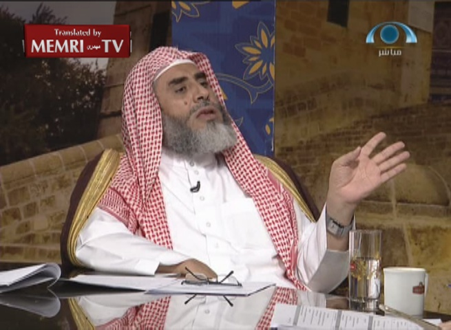 "Saudi Cleric Awadh Al-Qarni: Hitler Wanted to Solve the ""Jewish Question"" by Gas Chambers, the West by Sending them to Palestine"