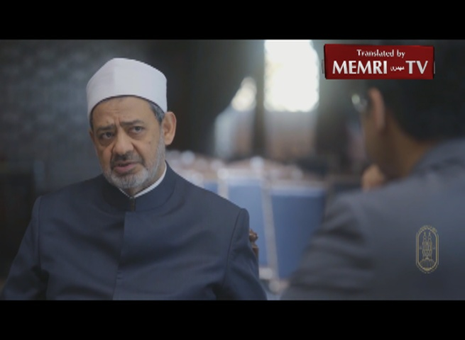 Sheikh of Al-Azhar Ahmad Al-Tayyeb: In Islam, Unrepentant Apostates Should Be Killed; Homosexuality Is a Disease