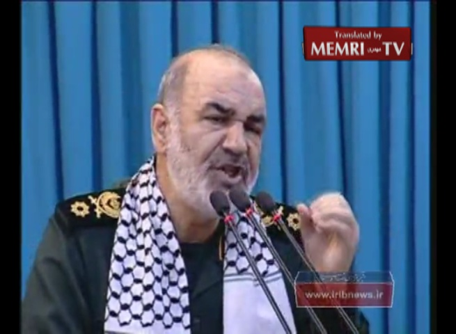 IRGC Deputy Commander Salami on Qods Day: Over 100,000 Missiles in Lebanon Alone Are Ready to Strike at the Heart of Israel; Today, More than Ever, Its Annihilation Is Imminent