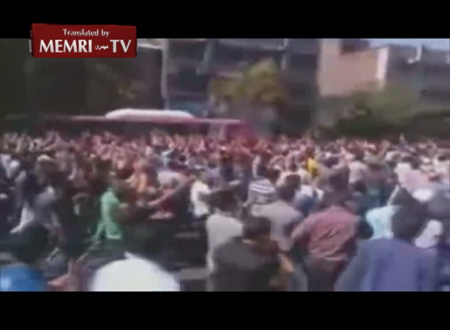 Mass Anti-Regime Protest in Esfahan on Qods Day: Leave Syria, Think about Us Iranians!