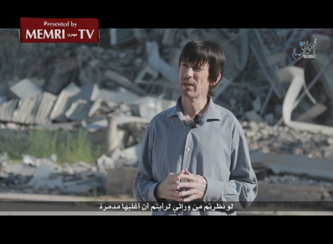 British Journalist Held Captive by ISIS John Cantlie Criticizes U.S. for Airstrikes on Mosul University, Residential and Commercial Areas