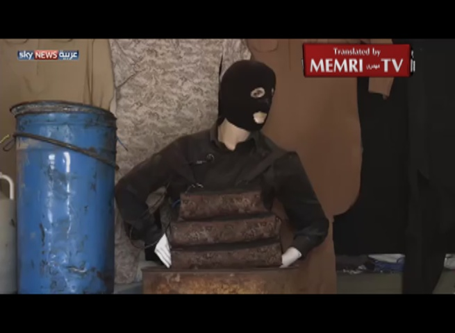TV Report on Kurdish Museum Dedicated to ISIS Weaponry