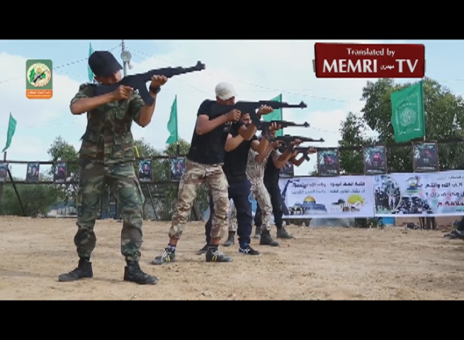 Teenagers Train for Jihad, Martyrdom at a Hamas Summer Camp in Gaza