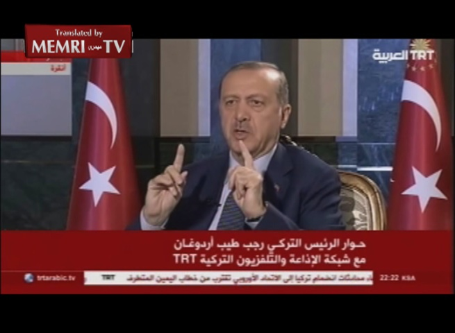 Turkish President Erdogan: The West Cannot Split Turkey or Subdue the Will of the Turkish People