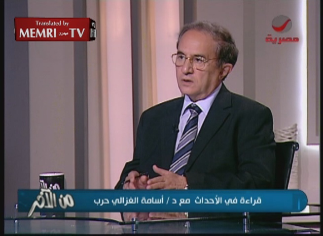 Egyptian Researcher Osama Ghazali Harb: Arab Rejection of the Partition Resolution Was an Historic Mistake