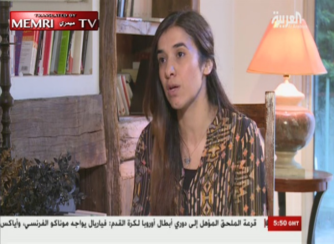 Yazidi Activist and Survivor of ISIS Captivity Nadia Murad: Yazidis Will Not Return to Sinjar without International Protection