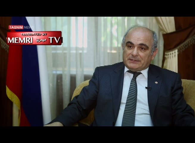 Russian Ambassador to Iran Levan Dzhagaryan: Iran Approved Our Use of Its Airbase for Strikes in Syria