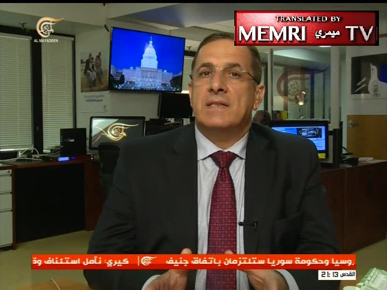 Arab-American Political Activist Khaled Saffuri: MEMRI Is a Huge Organization, Monitoring Everything Published in the Arab World