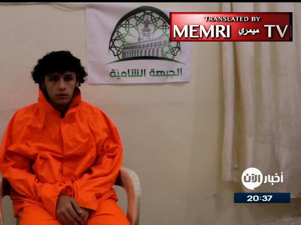 Captured ISIS Fighter Talks about Use of Slave-Girls as Rewards for Fighters