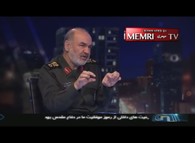 "IRGC Deputy Commander Salami: We Have a ""Jungle"" of Missiles Ready to Be Launched at Any Enemy Far Away"