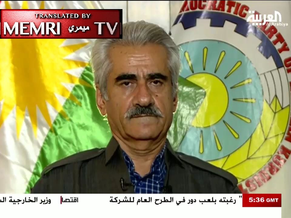 Iranian Kurdish Leader Mustafa Hijri Calls for Secular, Democratic Federal Iran, Says: We Have Been Forced to Return to Armed Struggle