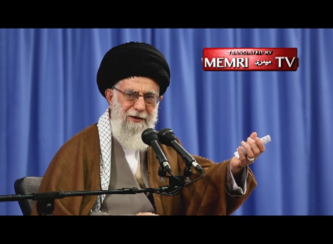 "Iranian Supreme Leader Khamenei Explains the Chant ""Death to America"""