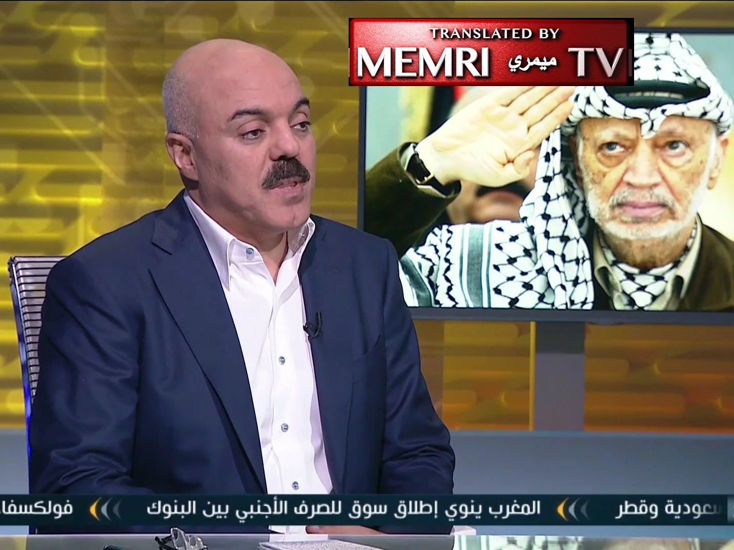 "Former Fatah Official Samir Mashharawi: Abbas Leading Fatah to Destruction, ""Stands Accused"" in Arafat's Death"