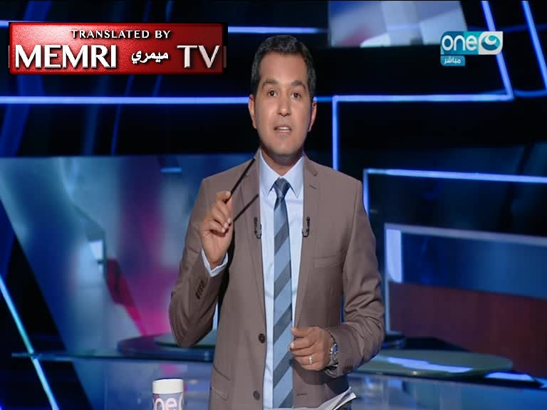 Egyptian TV Host Breaks a Pencil on Air to Protest Prison Sentence for Journalists