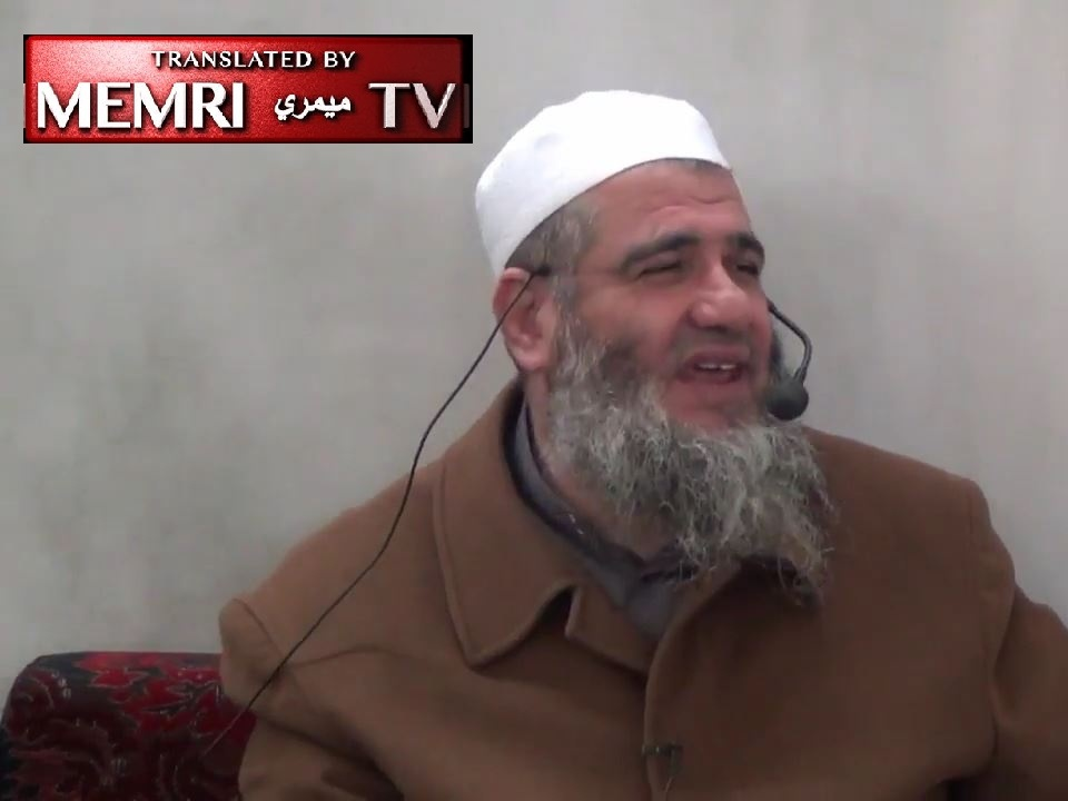 Jordanian-Palestinian Cleric Mashhoor bin Hassan: I Am Happy over Israel Fires, the Jews behind All the Wars on Earth