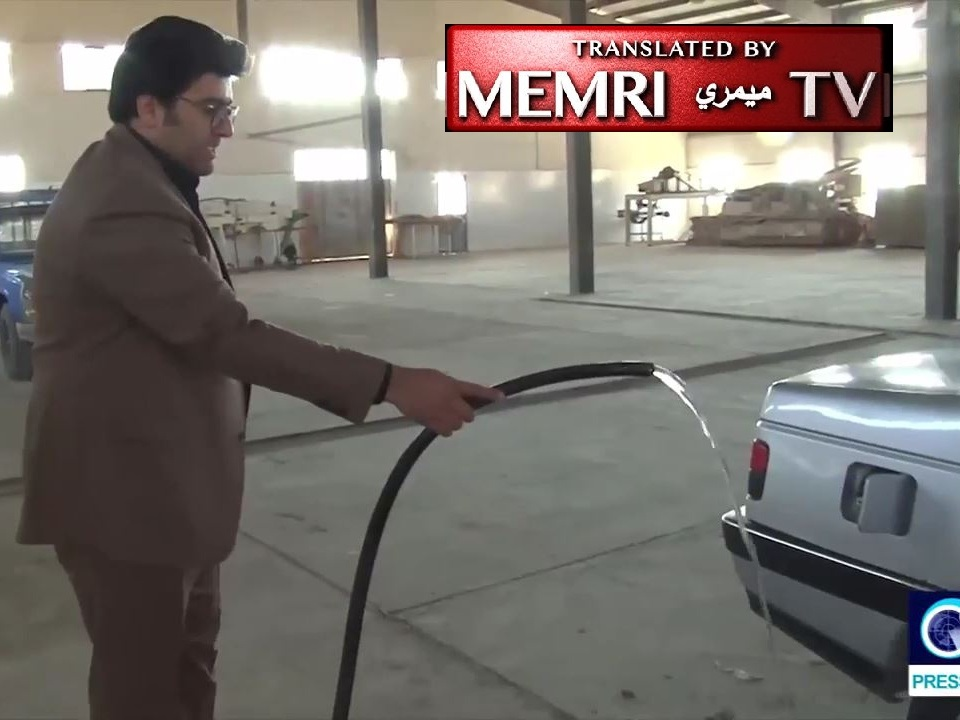 Iranian Scientist Unveils Water-Fueled Car