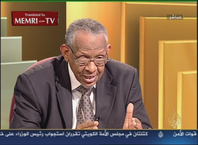 Nafe' Ali Nafe', Senior Advisor to Sudanese President Omar Al-Bashir: Israel and the American Jewish Lobbies Are Playing a Significant Role in the Partitioning of Sudan