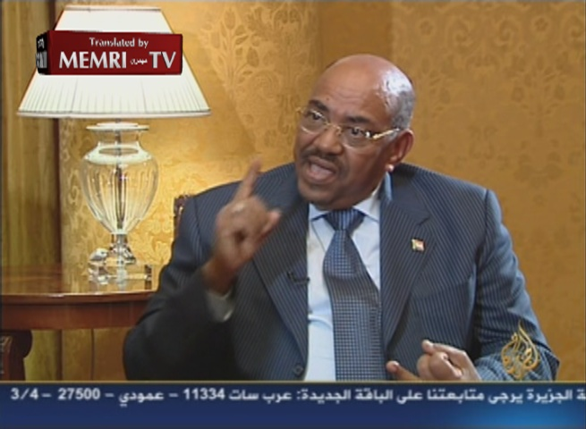 "Sudanese President Omar Bashir: ""The US Is Not Qualified to Talk about Human Rights or Justice"""
