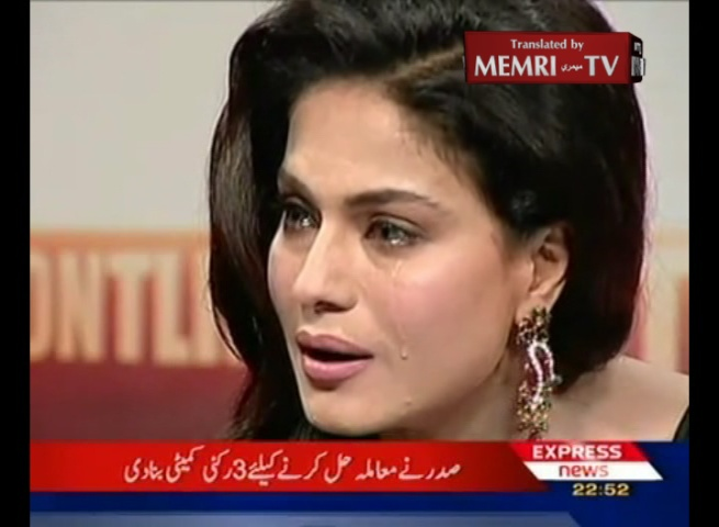 Pakistani Actress Veena Malik Defies Mullah Accusing Her of Immoral Behavior on an Indian Reality TV Show, and States: Mullahs Are Raping Children in Mosques