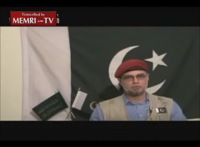 Pakistani Political Commentator Zaid Hamid Threatens the US and India: We Are a Nuclear-Armed Islamic Army;