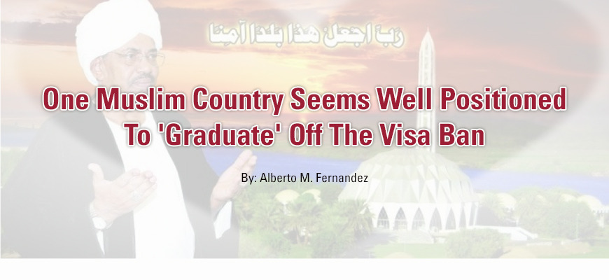 One Muslim Country Seems Well Positioned To 'Graduate' Off The Visa Ban