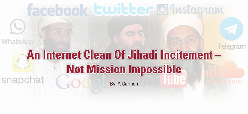 An Internet Clean Of Jihadi Incitement – Not Mission Impossible