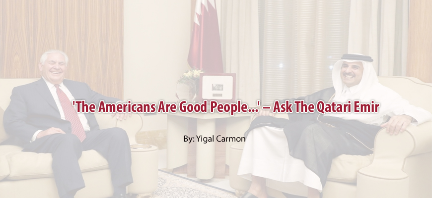 'The Americans Are Good People...' – Ask The Qatari Emir