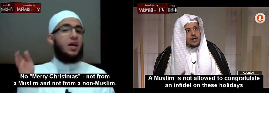 Editor's Picks From The MEMRI TV Archives: Clips On Christmas And New Year's