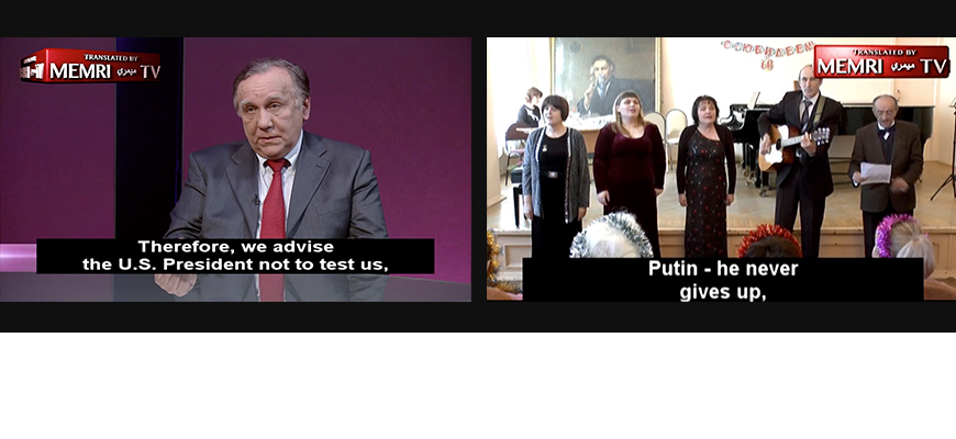 2018 Editor's Picks: MEMRI TV Clips From The Russian Media Studies Project