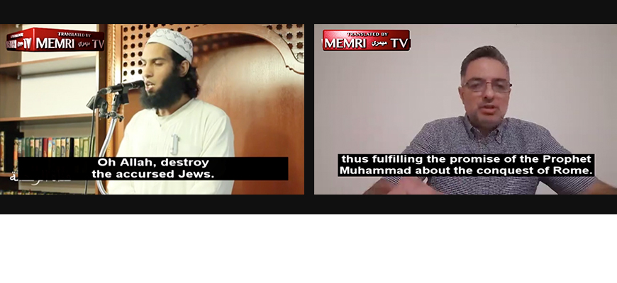 2018 Editor's Picks: MEMRI TV Clips Of Sermons In Canada And Europe
