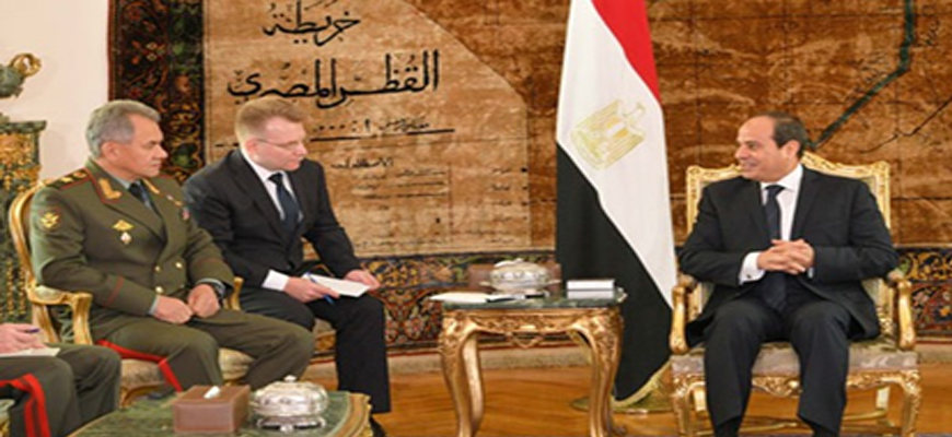 Russian Government Internet Portal: Russia And Egypt To Sign Pact Allowing Mutual Use Of Territorial Airspace And Military Bases