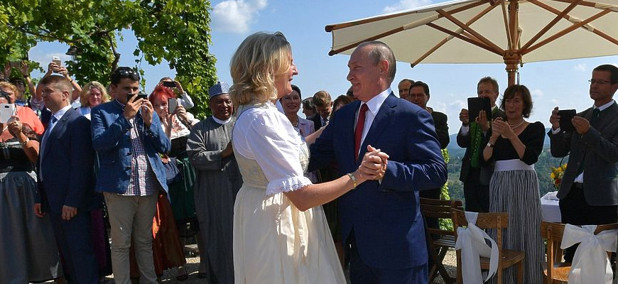 Russia In The World – Russia-Austria Relations – Reactions To Putin's Attendance At Wedding Of Austrian Foreign Minister Kneissl