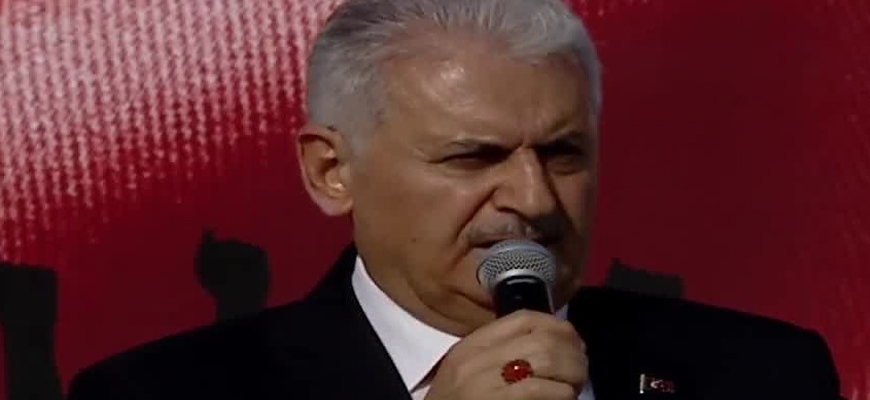 Erdoğan, Senior Turkish Politicians Participate In Pro-Gaza Rally; PM Yıldırım At Rally: Israel Emulates Hitler, Mussolini