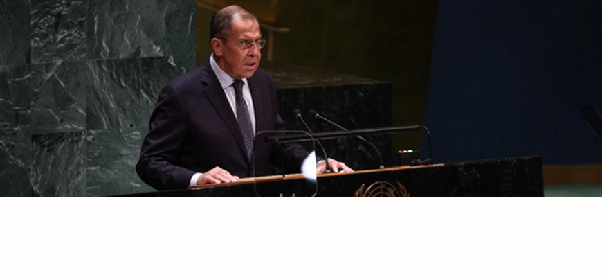 Russian FM Lavrov's Speech At UNGA: Western Countries Seek To Impede Development Of Polycentric World, Impose Standards Of Conduct Based On Narrow Western Interpretation Of Liberalism
