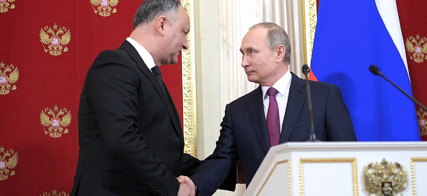 Russia's Orbit – Moldova's President Dodon Promotes Strategic Partnership With Russia During Visit To Moscow