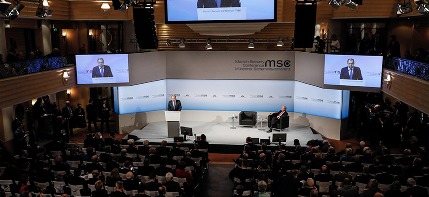 Munich Security Conference - Russian FM Lavrov's Call For A New World Order To Counter U.S. Influence In Europe