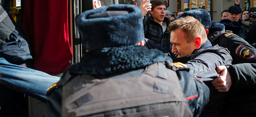 Navalny Leads Russia's Anti-Government-Corruption Protests