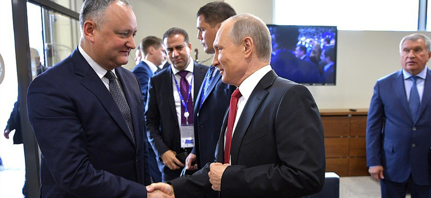 Russia's Orbit – Moldova's President Dodon: Agreement With EU Wrecked Our Economy, Time To Revive Strategic Partnership With Russia