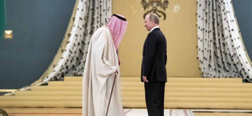 Russian Media Outlet Topwar.ru: 'Saudi Arabia's King Flew To Moscow To Surrender To The Mercy Of The Winner'